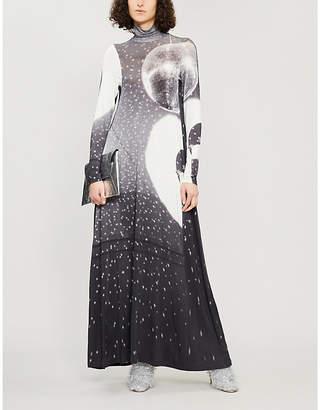 MM6 MAISON MARGIELA Reflex stretch-jersey dress