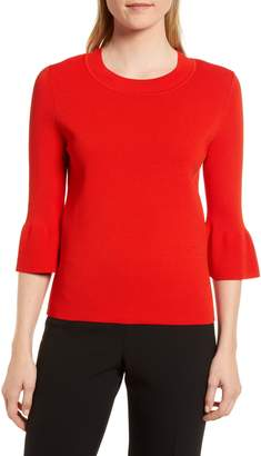 BOSS Fenella Ruffle Sleeve Sweater