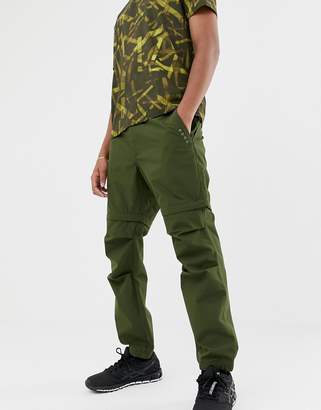 Asos 4505 pants with detachable legs in water resistant fabric