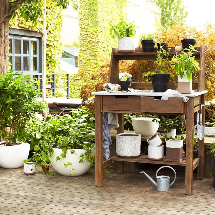 west elm Earth Tone Planters