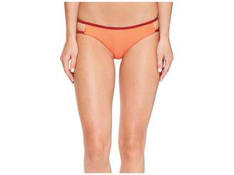 RVCA Frothy Cheeky Bikini Bottom Women's Swimwear