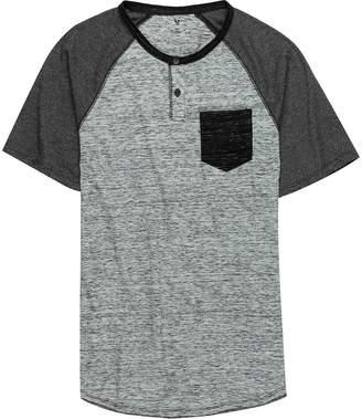 Stoic Thunder Raglan Henley T-Shirt - Men's