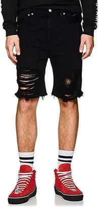 Stampd Men's Distressed Denim Shorts