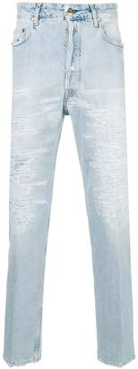 Golden Goose Happy destroyed jeans