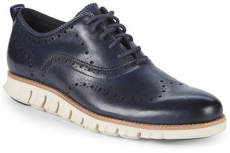 Cole Haan Zerogrand Leather Wingtip Oxfords