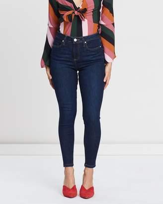 Miss Selfridge Petite Lizzie High Waist Skinny Fit Jeans