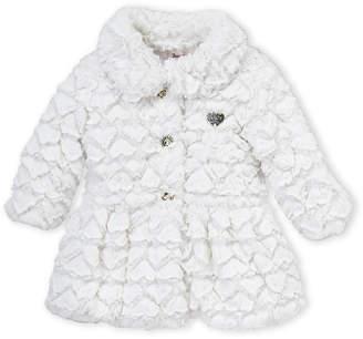 Juicy Couture Infant Girls) Snow Cap Faux Fur Jacket