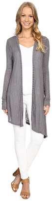 B Collection by Bobeau Knox Asymmetric Duster Cardigan $60 thestylecure.com