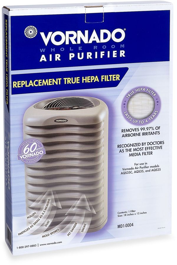 Vornado® Replacement HEPA Filter for AQS35 and AQS25 Air Cleaner