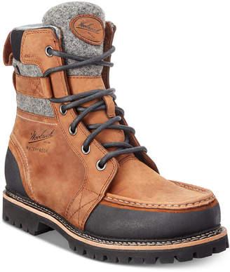Woolrich Men's Stache Waterproof Leather Boots Men's Shoes