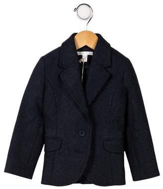 Marie Chantal Girls' Wool Notch-Lapel Blazer w/ Tags