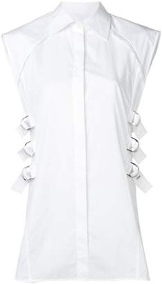 Helmut Lang buckle detail shirt