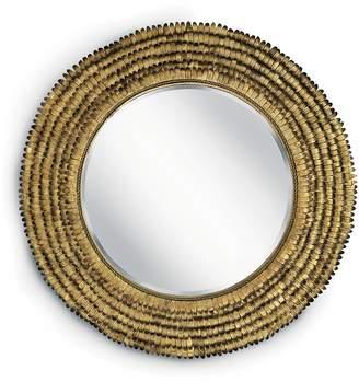 Regina-Andrew Design Regina Andrew Design Gold Leaf Round Petal Mirror
