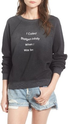 Women's Wildfox Shotgun Infinity Pullover $114 thestylecure.com
