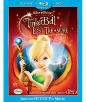 Disney Tinker Bell and the Lost Treasure - 2-Disc Combo Pack