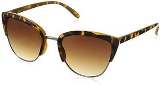 Foster Grant Women's Jet Set 6 Cateye Sunglasses