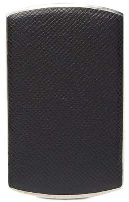 BOSS Signature Leather Business Card Case
