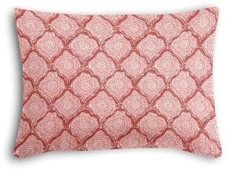 Loom Decor Boudoir Pillow Sanganer - Blush