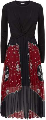 Sandro Knot Front Dress