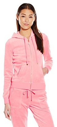 Juicy Couture Black Label Women's J Bling Original Velour Jacket $128 thestylecure.com