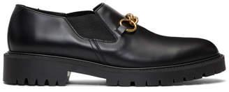 Burberry Black Darwin Loafers