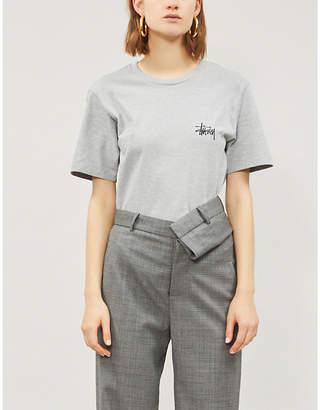 Stussy Logo cotton-jersey T-shirt