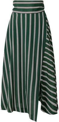 Enfold striped skirt