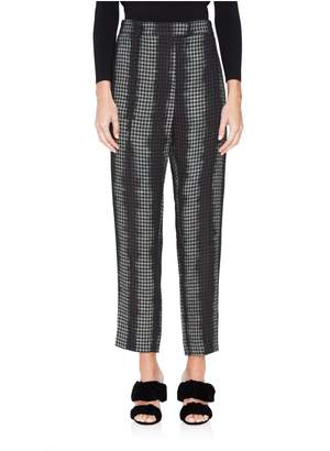 Nina Ricci Maltinto Check-Flannel Pants