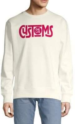 Greaser Crewneck Cotton Sweatshirt