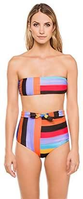 Mara Hoffman Women's Abigail Bandeau Bikini Top Swimsuit