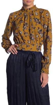 Moon River Floral Printed Blouse