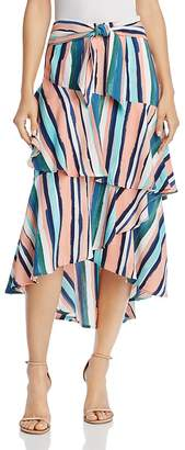 Santorini Lost + Wander Ruffle Skirt