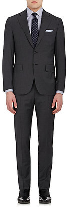 Canali Men's Dot-Striped Wool Two-Button Suit $1,725 thestylecure.com