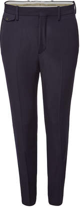 Virgin Wool Serpentine Trousers