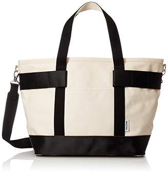 Briefing (ブリーフィング) - [ブリーフィング] トートバッグ EASEL CANVAS TOTE M BRL546219 700 NATURAL