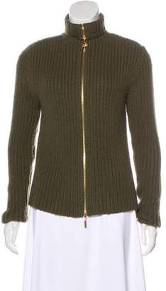 Tory Burch Cashmere Zip-Up Jacket