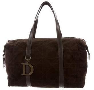 Christian Dior Suede Shoulder Bag