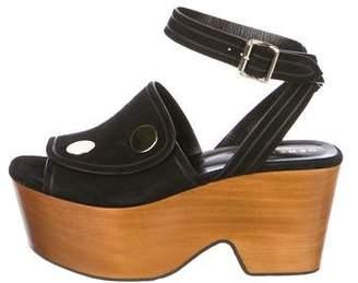 Derek Lam Suede Platform Sandals