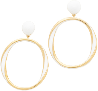 Kate Spade New York Do The Twist Drop Earrings $68 thestylecure.com