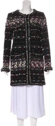 Chanel Metallic Lesage Tweed Coat