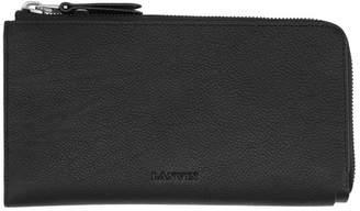 Lanvin Black Zipped Wallet
