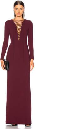 Stella McCartney Lace Up Maxi Dress