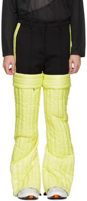 Colmar A.G.E. by Shayne Oliver Yellow Quilted Trousers