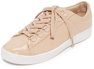 DKNY Brayden D Ring Classic Court Sneakers $228 thestylecure.com