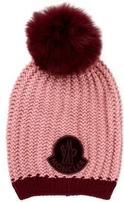 Moncler Wool Pom-Pom Beanie