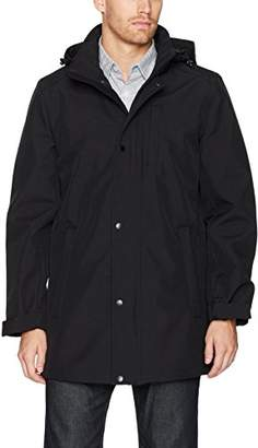 Nautica Men's Stretch Hooded Softshell Commuter Jacket