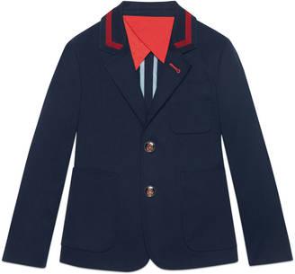 Children's stretch gabardine jacket $660 thestylecure.com