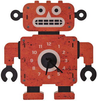 Modern Moose Clockbot Wall Clock