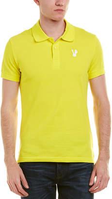 Versace Pique Polo Shirt