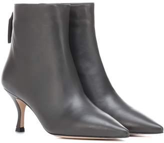 Stuart Weitzman Juniper 70 leather ankle boots